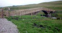 The new bridge at Selside
